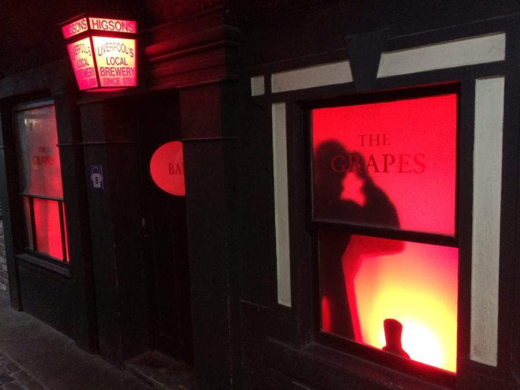 The Grapes pub was where The Beatles went to escape their fans.