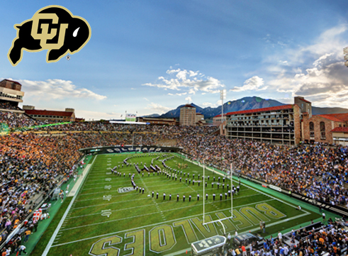 College football Saturdays, such as here at Folsom Field in Boulder, Colo., is the one thing I miss most about the U.S.