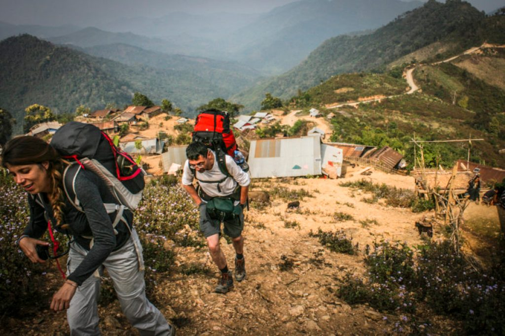 Trekking in Northern Laos isn't very high but it's steep, beautiful and fascinating.