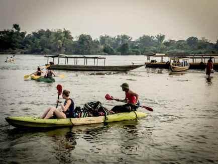 Kayaking isn't as easy as it looks.
