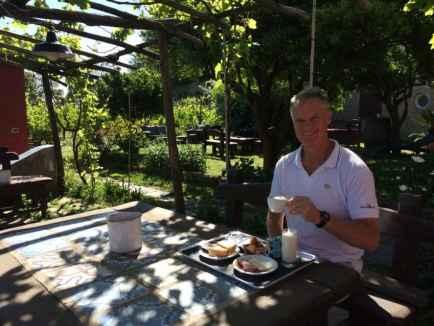 Breakfast at La Vigna. Photo by Marina Pascucci