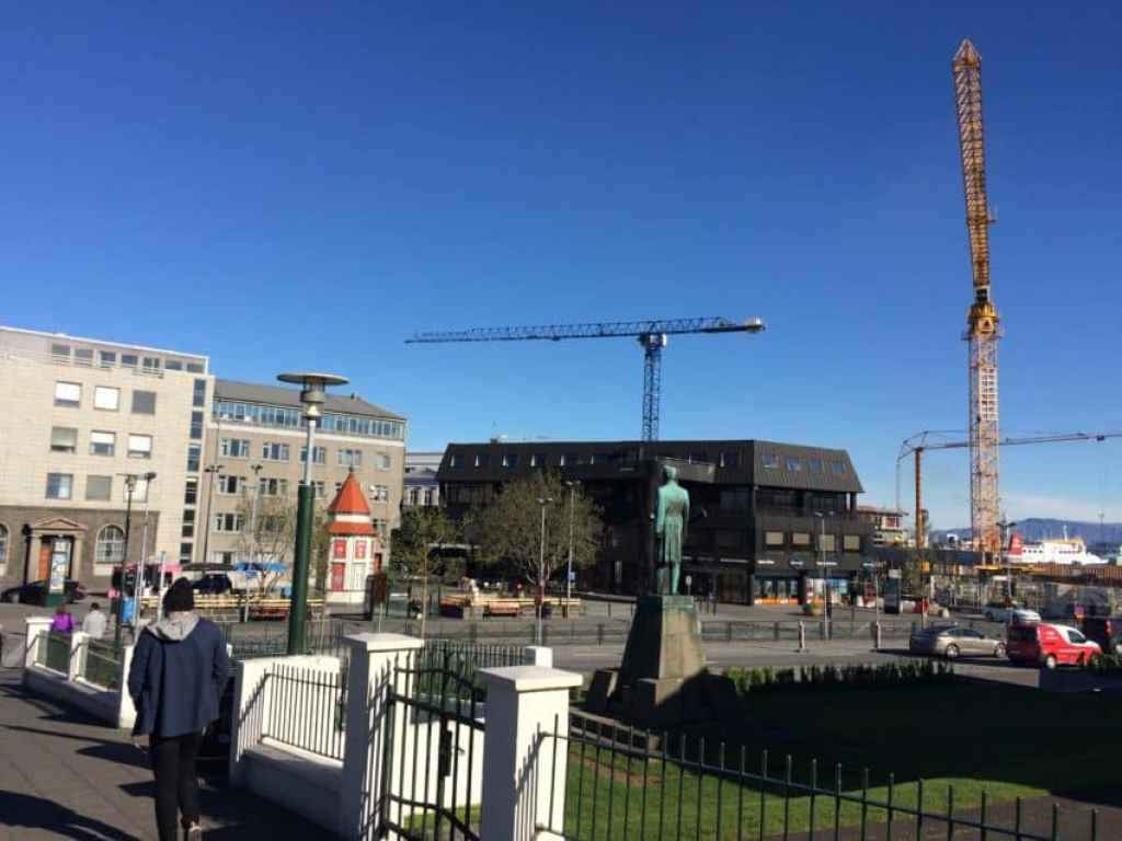 Reykjavik, always under construction, wants to double its number of hotel rooms by 2022.