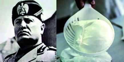 In a weird way, Mussolini will always be linked to bufala mozzarella.
