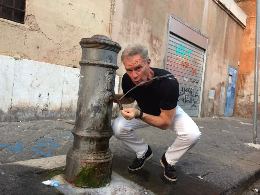 Rome's historic water shortage plugging the noses of some of city's famed cisterns