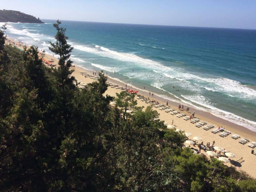 Mussolini — yes, Mussolini — to thank for Lazio's beautiful beaches