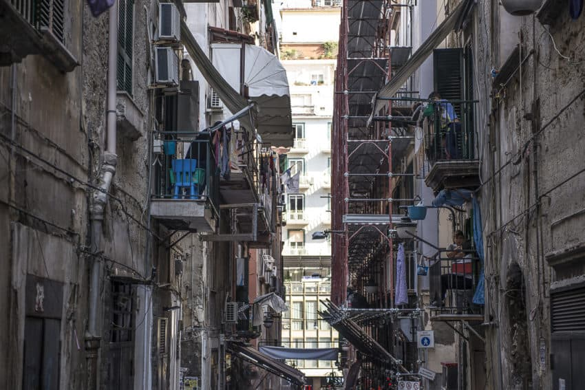 Naples: Italy's most chaotic city is a walk through a violent past via two tough neighborhoods