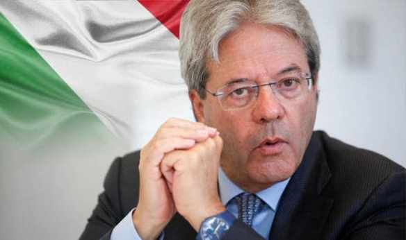 Paolo Gentiloni. Photo by Daily Express