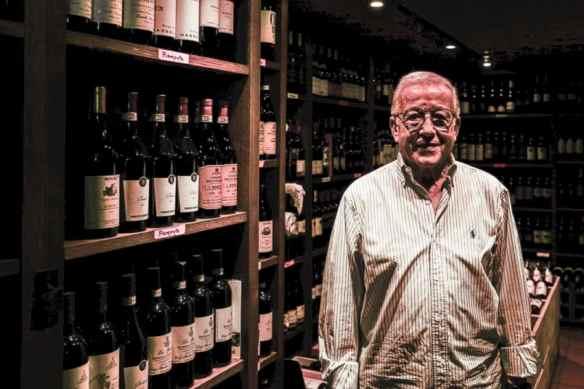Orazio in L'Oasi della Birra, home to 1,500 wines and 500 beers. Photo by Marina Pascucci