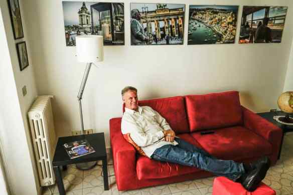This apartment is bigger (55 square meters vs. 45) for the same 1,000-euro price. Photo by Marina Pascucci