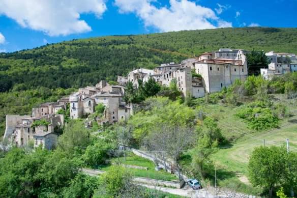 Carapelle Calvisio (pop. 90) is the smallest town in Abruzzo. Jamie Abbott photo