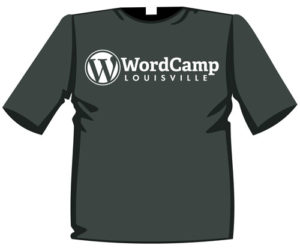 T-shirt with WordCamp Logo