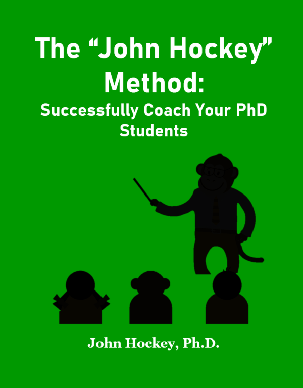 Successfully Coach PhD Students