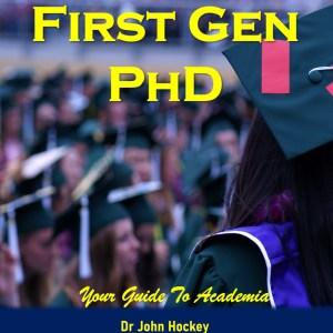 First Gen PhD