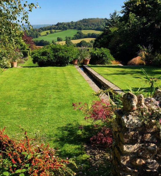 The Millenium Garden at Burrow Farm Gardens