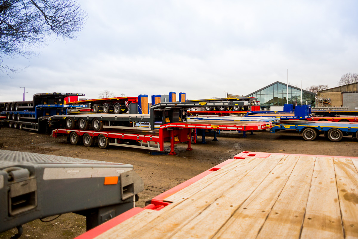 HGV Specialised Trailer Fleet