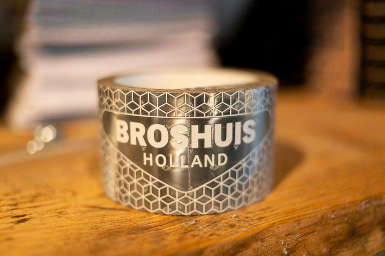 Broshuis reflective tape.