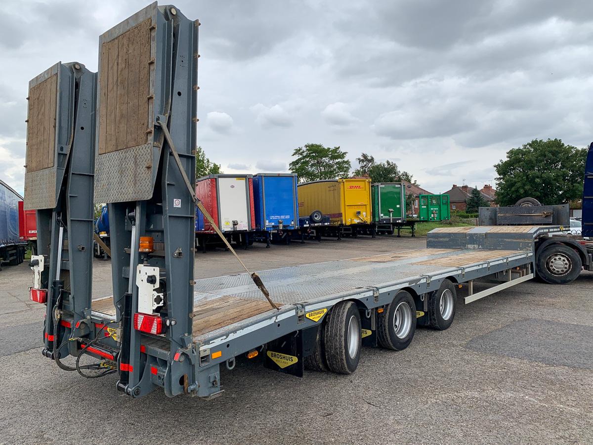 Broshuis plant carrier trailer