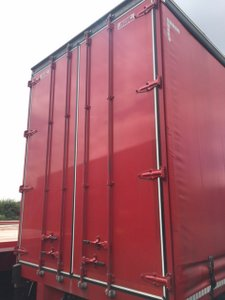 SDC and Montracon Tall Curtainsiders