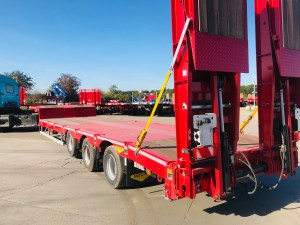 To show a Broshuis trailer we have for sale.