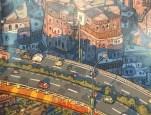 Inner city carriageway