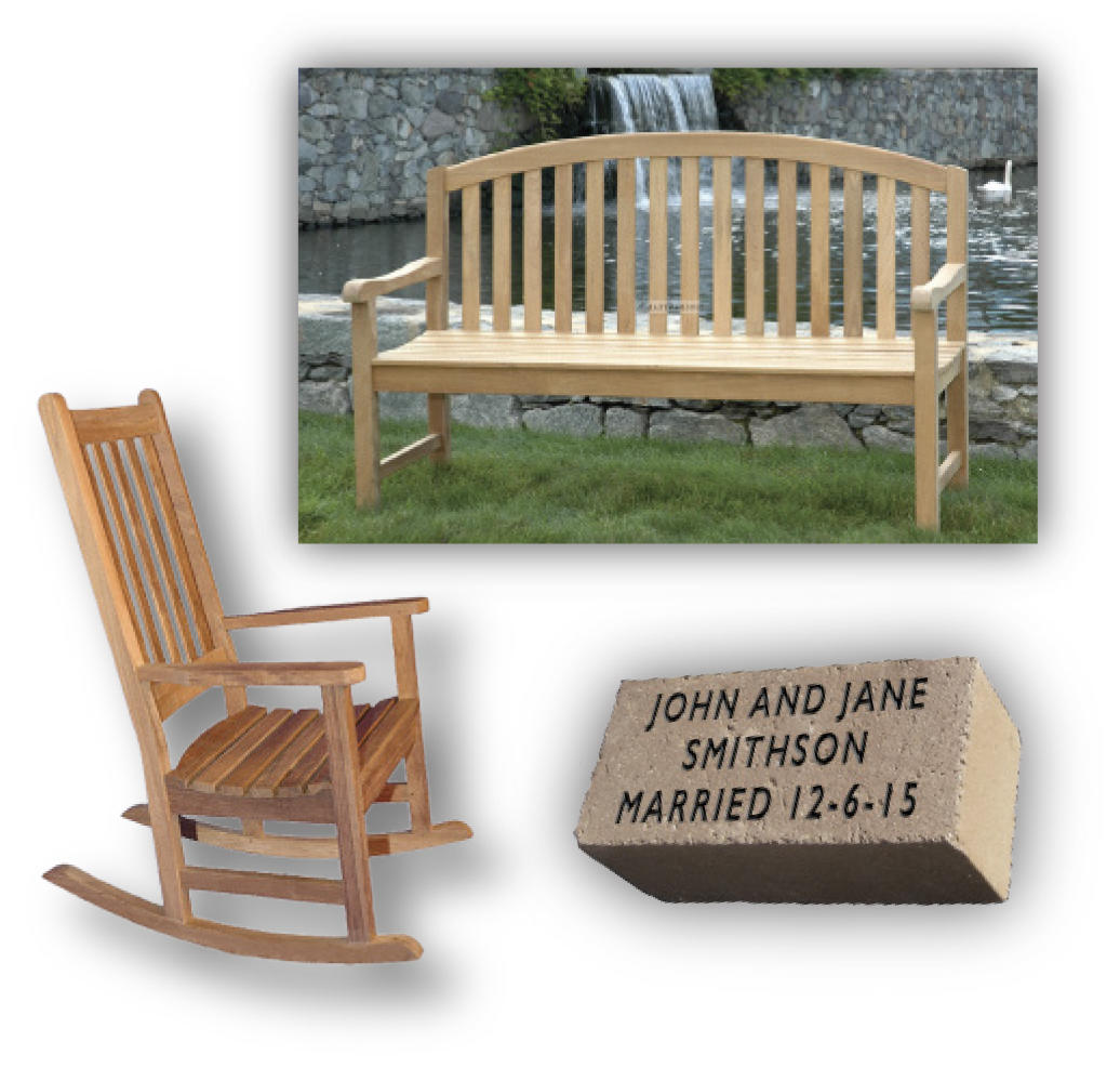 engraved rocking chair oak dining room set with 6 chairs gifts john james audubon center at mill grove