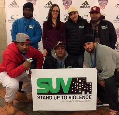 stand up to violence jacobi medical center