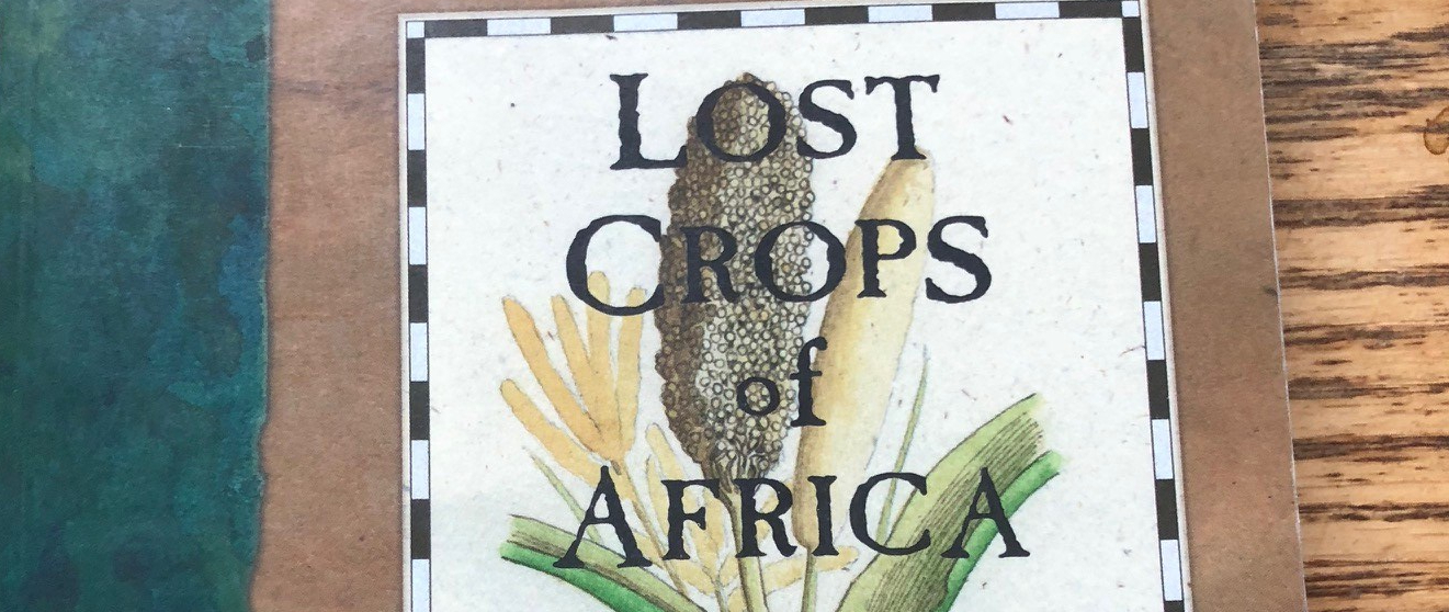 Lost Crops of Africa book cover