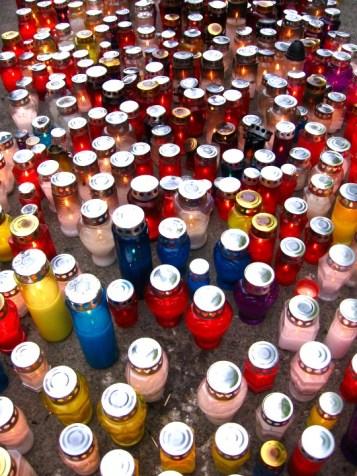 Votive Candles, Miragoj Cemetary