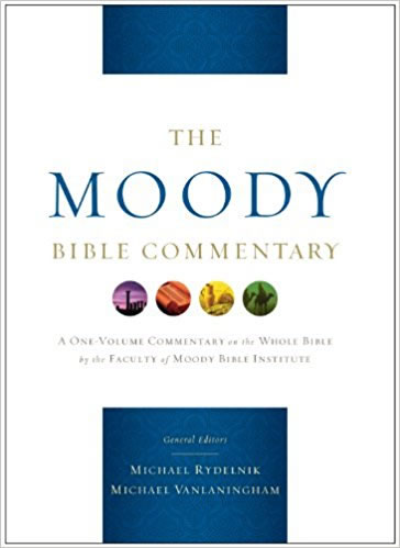 Cover of the Moody Bible Commentary