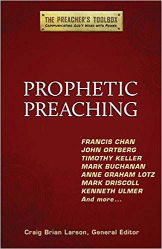 Cover for Prophetic Preaching