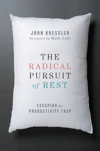 Picture of cover of The Radical Pursuit of Rest by John Koessler