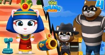 talking tom mobile game