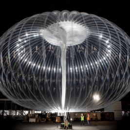 google project loon internet balloons kenya