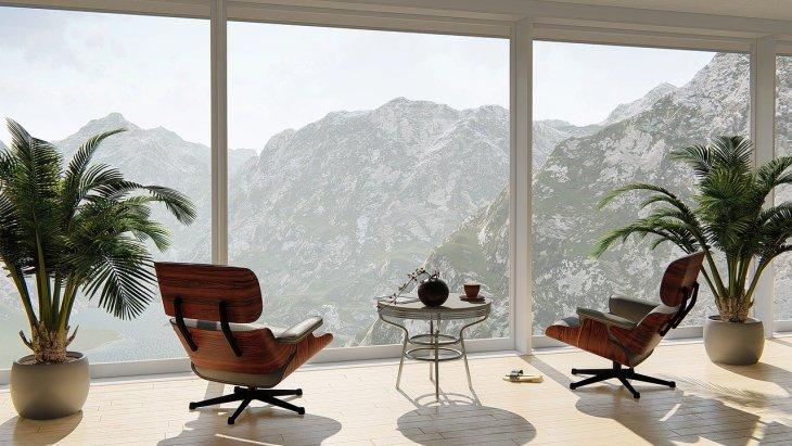 modern view home