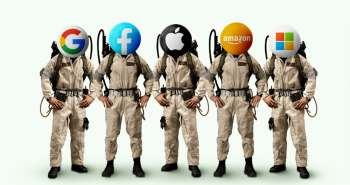 ghostbusters apple Facebook, amazon google microsoft