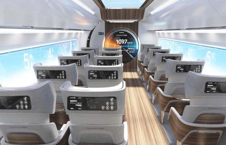 transpod-interior hyperloop