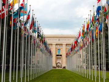United Nations flags facebook