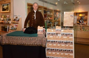 Book signing at the Albany Institute, NY