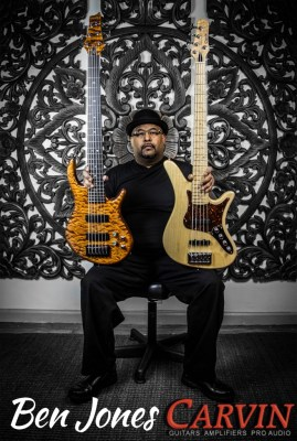 Ben Jones & Carvin Basses