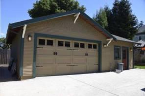 Complete custom detached garage