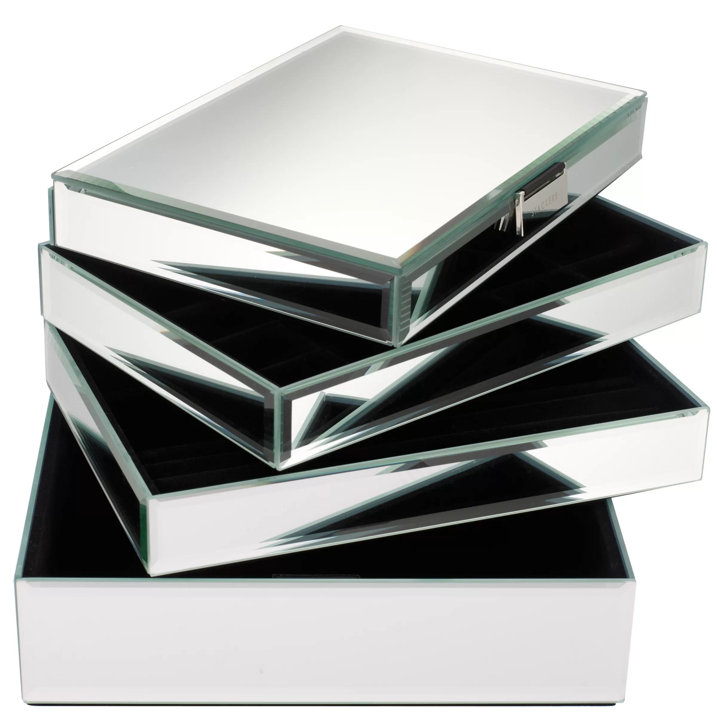 Buy Stackers Glass Jewellery Boxes John Lewis