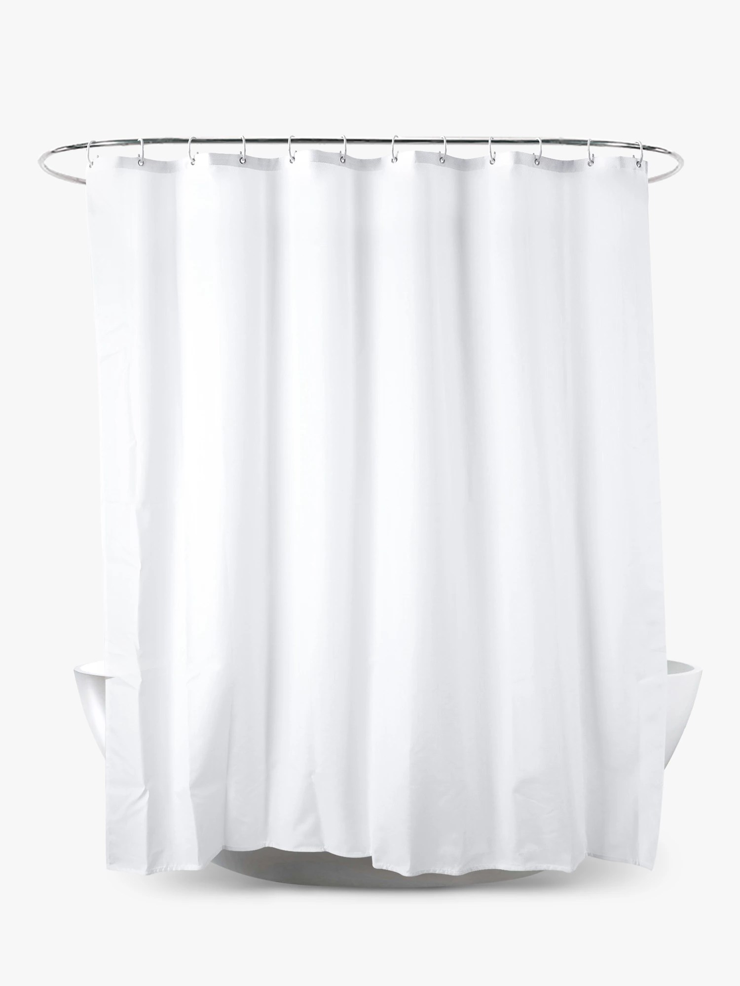 john lewis partners textured slub shower curtain extra long