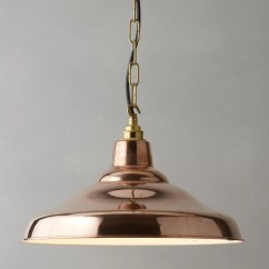 Copper Pendant Light Kitchen Prints Davey Lighting Factory Ceiling At John Lewis