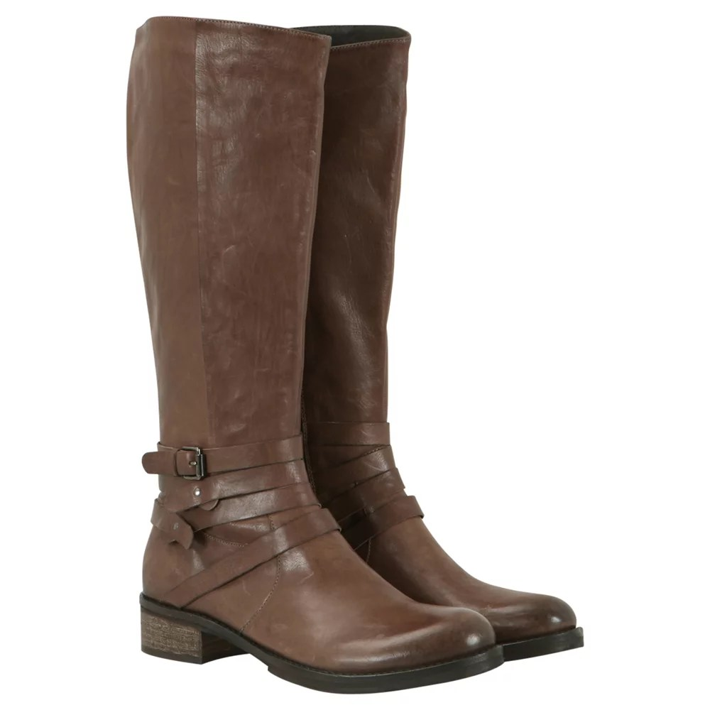 Brown Leather Riding Boot Cheap Women' Footwear And Save Online