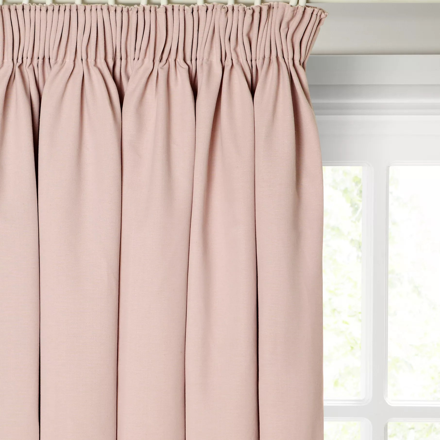 Pink Ready Made Curtains & Voiles John Lewis