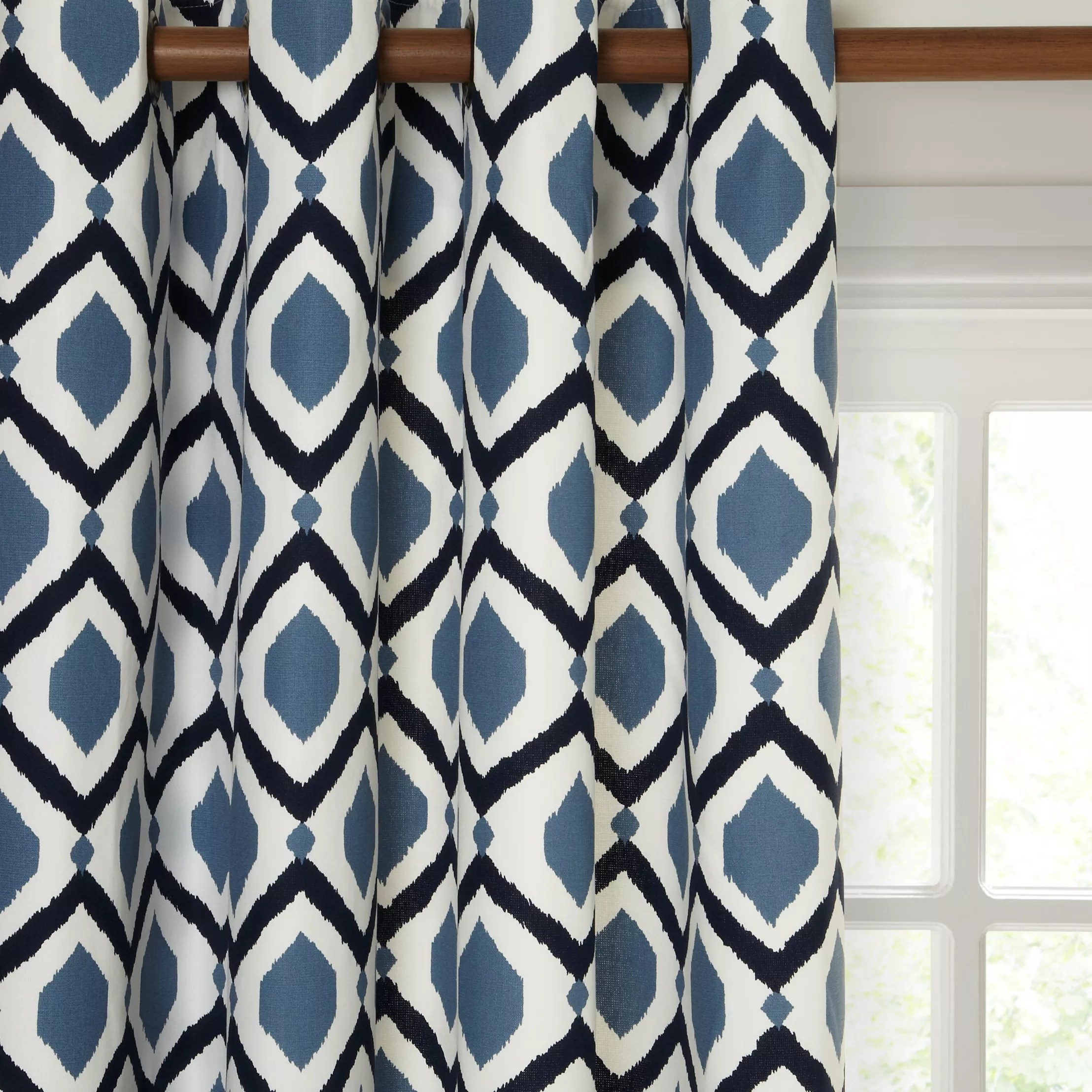 Blue Ready Made Curtains & Voiles John Lewis