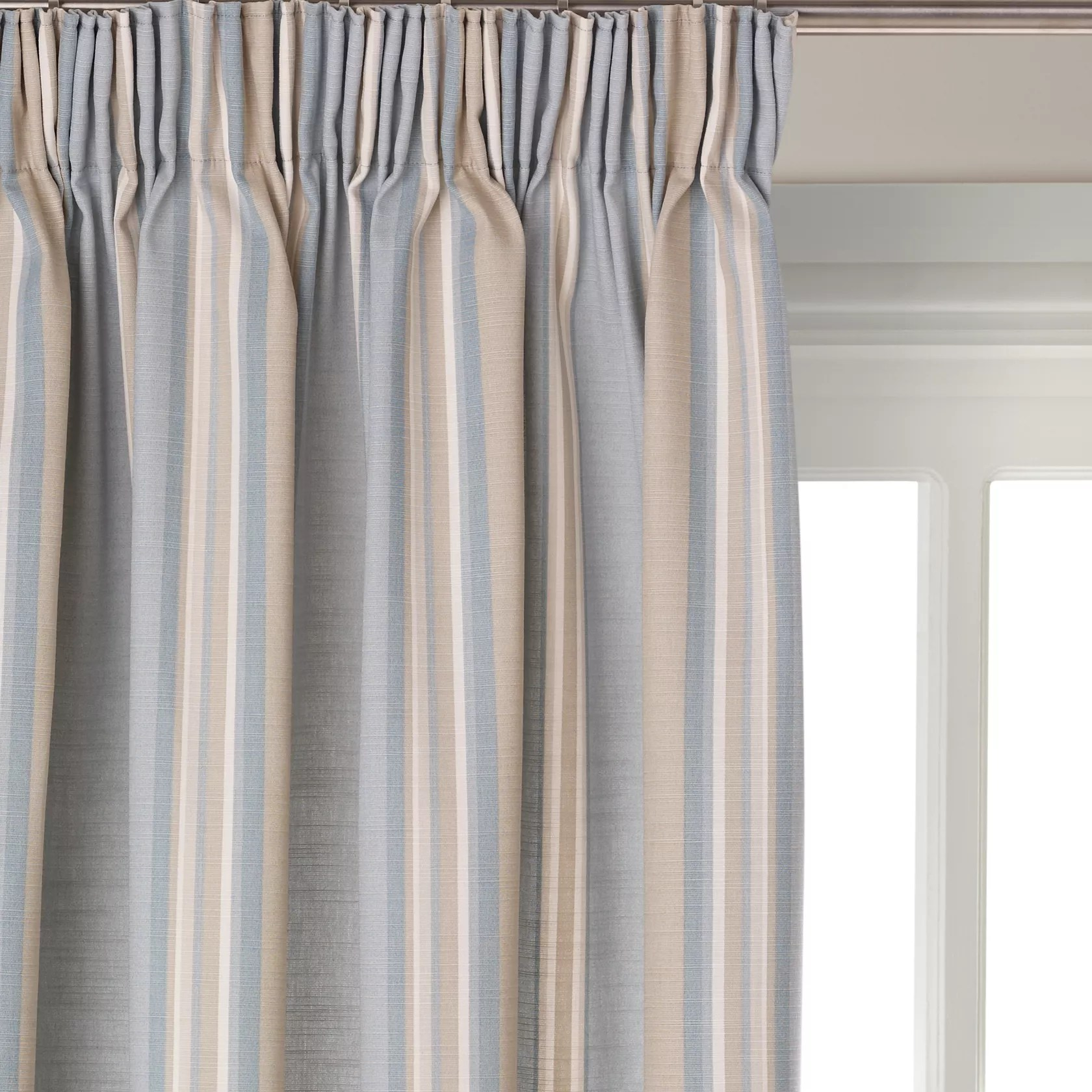 Light blue curtains - Pencil Pleat Ready Made Curtains Voiles John Lewis