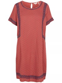 Buy Fat Face Ruby Gypset Foulard Dress, Flame