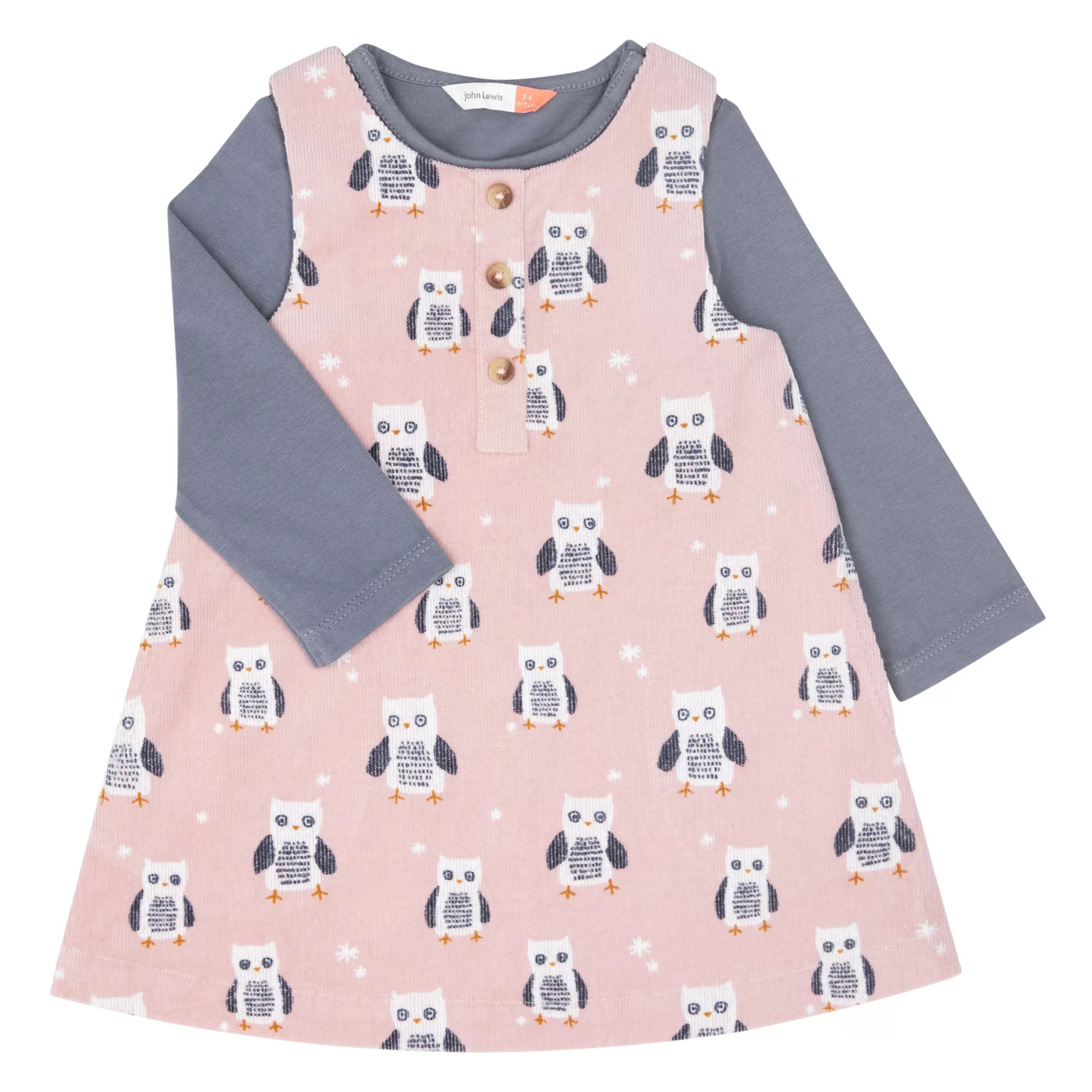 Owl Baby Clothes : clothes, Lewis, Dress, T-Shirt, Partners