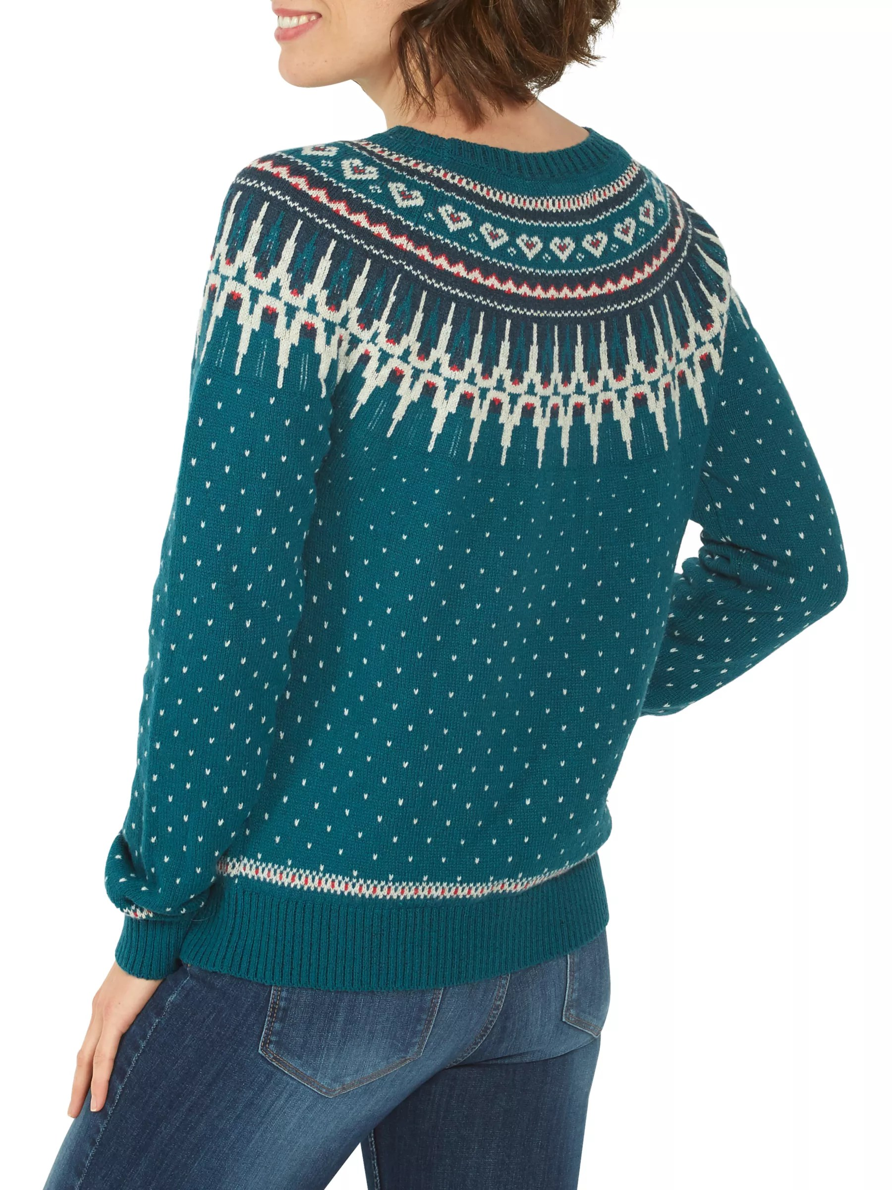 Buy Fat Face Farah Fair Isle Jumper